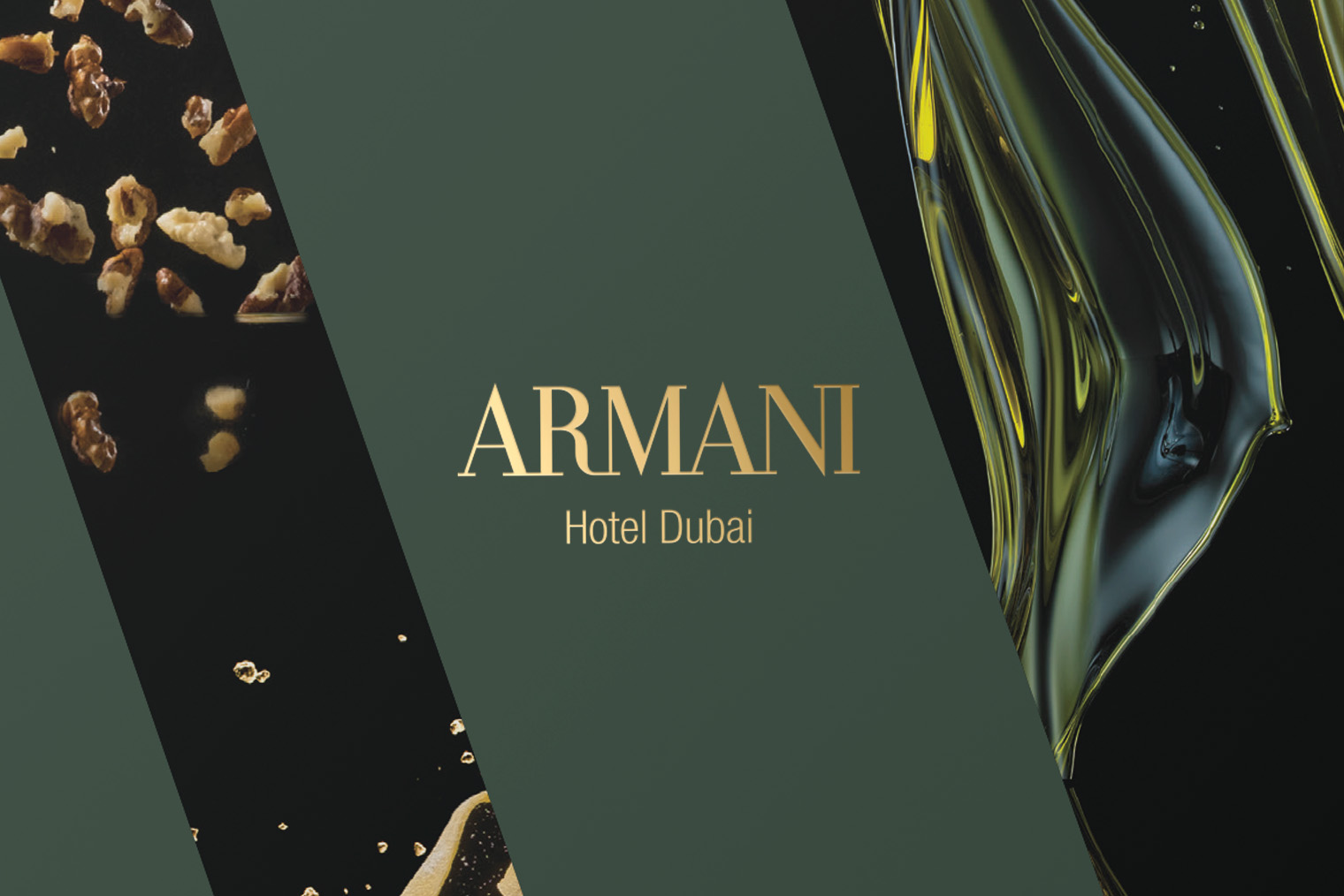 Marketing Campaign and Key Visual Design for Brunch at Armani Hotel Dubai